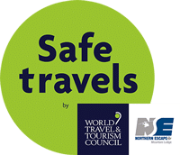Northern Escape Heli Skiing - approved by the World Travel and Tourism Council's the Safe Travels Program